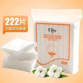 Bông Tẩy Trang Cotton Pads (222 miếng) - bong tay trang 222 mieng