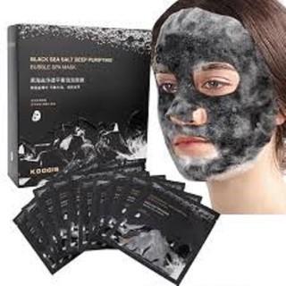 10 Mặt nạ sủi bọt THẢI ĐỘC trắng min da hang CHINH HANG - - Sài không đã không lấy tiền thumbnail