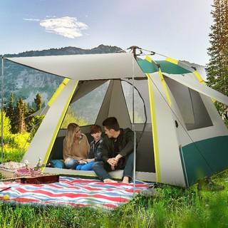 lều du lịch - lều du lịch - lều cắm trại 3-4 người thumbnail