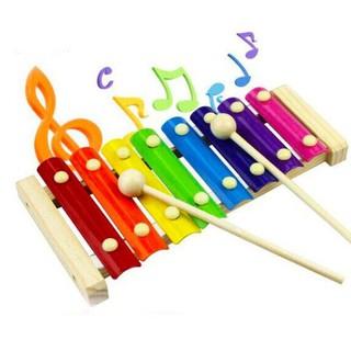 Đàn Xylophone 8 Âm Sắc Khung Gỗ Cho Bé Chơi Nhạc & Phát Triển Ngôn Ngữ - ĐX1 thumbnail