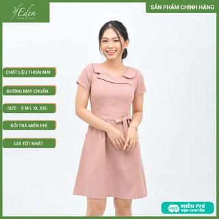 Váy Đầm Công Sở Nữ Thời Trang Eden Dáng Chữ A - D414 - D414 thumbnail