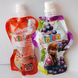 Combo 30túi NƯỚC ÉP TRÁI CÂY TƯƠI CÓ THẠCH ngọt thanh mát lạnh hương trái cây tổng hợp túi 100ml