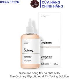 Nước Hoa Hồng The Ordinary Glycolic Acid 7% Toning Solution Toner 240ml - Toner the ordinary 240ml