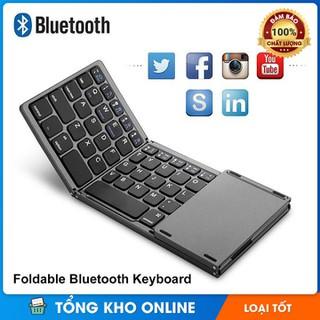 Bàn phím Bluetooth gấp 3 rút gọn Bluetooth - Bàn phím Bluetooth thumbnail