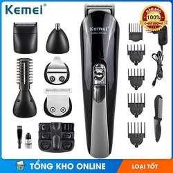 Tông đơ cắt tóc đa năng 6 trong 1 Kemei KM-600