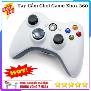 Tay Cầm Chơi Game Xbox 360 Hỗ Trợ Tất Cả Các Thiết Bị Android , PC , Xbox , Tay Cầm Chơi Game PC Dây Có Trở Chống Nhiễu - Tay Cầm Chơi Game XBox 360 thumbnail