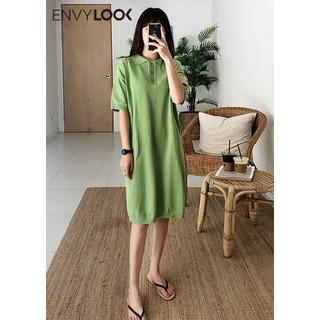 Đầm Len Dáng Suông Cổ Bẻ - P00000RG thumbnail