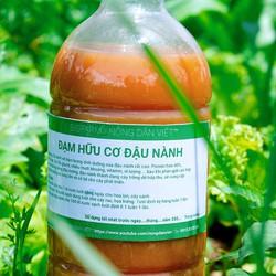 Chế phẩm vi sinh dịch đậu nành, dịch đỗ tương Lên Men đậm đặc Kích Chồi, cho hoa lan,  hoa hồng, cây kiểng, rau 1 lít