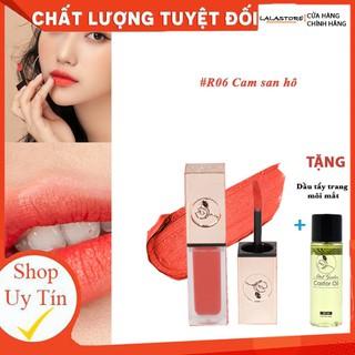 Son Kem Lì Roses R6 CAM SAN HÔ TẶNG tẩy trang môi - R6CAMSH thumbnail