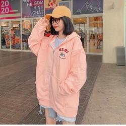 áo khoác nỉ ngoại thêu 0707