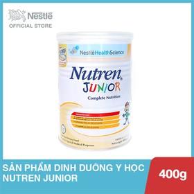 Sản phẩm dinh dưỡng y học Nutren Junior - Lon 400g - NJU023210