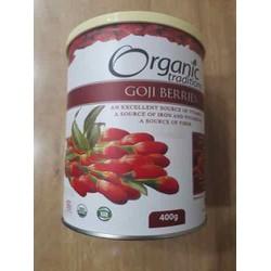 Siêu thực phẩm - Hạt câu kỷ tử sấy khô Goji Berreis Organic Traditions hộp 400gr và 454gr của Mỹ