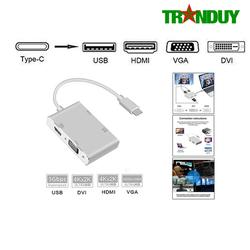 Cáp Chuyển Type C ra HDMI/VGA/DVI/USB 3.0