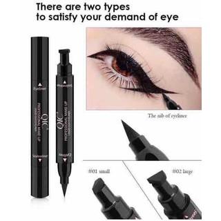 Combo 2 kẻ mắt - Kẻ mắt nước QIC - Kẻ mắt nước 2 đầu 2