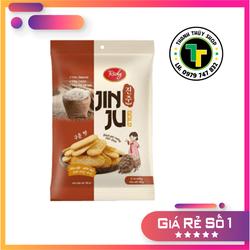 Bánh gạo Jinju Hàn Quốc vị bò nướng tiêu một nắng mới toanh trên thị trường loại 134g