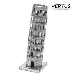 Đồ chơi lắp ghép mô hình 3D bằng thép tháp nghiêng Tower pisa