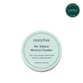 Phấn Phủ Kiềm Dầu No - Sebum Mineral Powder 5g - Mineral Powder