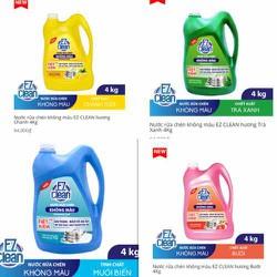nước rửa chén EZ CLEAN không màu 4kg