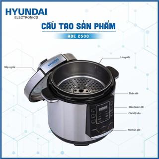 Nồi Áp Suất Điện Tử Hyundai Hde 2500S Dung Tích 1,8 Lít - Bảo hành chính hãng 12 tháng - 6047803816 3