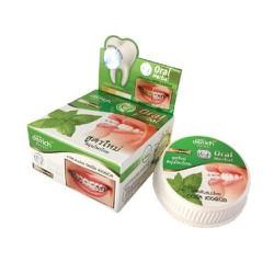 Kem Tẩy Trắng Răng Green Oral Herbal 25g