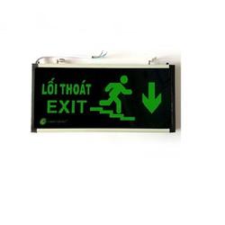Đèn Exit Xuống Cầu Thang