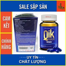 Qik Hair For Men - Ngăn Ngừa Tình Trạng Rụng Tóc, Hói Đầu – Hộp 30 viên - QIKHFM30-1