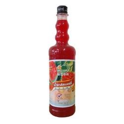 Siro Ding Fong Thái Lan hương phúc bồn tử (squash  rasberry) – 750ML