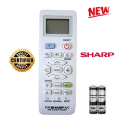 Điều khiển điều hòa Sharp 1&2 chiều Inverter các dòng Sharp AH-X AH-A AY-A 9000 12000 18000BTU Hàng tốt