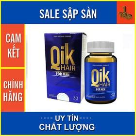 Qik Hair For Men - Ngăn Ngừa Tình Trạng Rụng Tóc, Hói Đầu – Hộp 30 viên - QIKHFM30-0