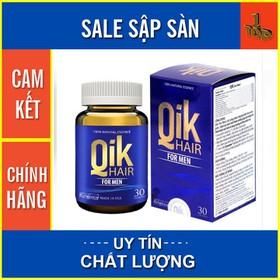 Qik Hair For Men - Ngăn Ngừa Tình Trạng Rụng Tóc, Hói Đầu – Hộp 30 viên - QIKHFM30-2