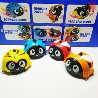 Bộ đồ chơi 12 con quay bọ rùa siêu ngầu - 365-307 thumbnail