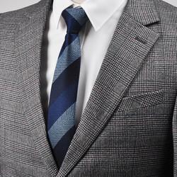 Cà vạt lụa nam dòng siêu cao cấp, Cà vạt Hàn Quốc, công sở, suite, doanh nhân, trang phục cưới bản hẹp 6 cm, thương hiệu Pháp