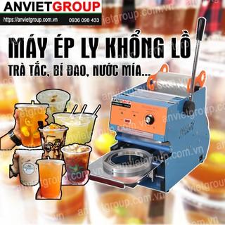 Máy dán ép, dập đậy nắp miệng ly cốc KHỔNG LỒ 1000ml Eton W2B An Việt - Ép ly trà tắc, trà chanh, trà bí đao, nước mía KHỔNG LỒ - EtonW2B thumbnail