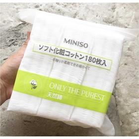 MINISO bông tẩy trang 180 MIẾNG - MINISO