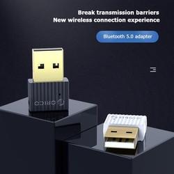 USB bluetooth 5.0 ORICO BTA-508 phụ kiện máy tính, đầu thu không dây mini, di động