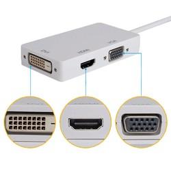 Cáp chuyển Displayport 3in1 ra HDMI/ VGA/ DVI, DP to VGA/ DVI/ HDMI, DP sang DVI/ HDMI, VGA - DVT24 790553