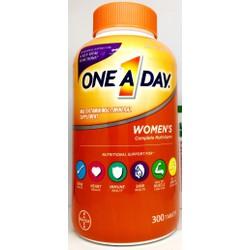 Vitamin tổng hợp one a day women formula chai 300 viên của Mỹ mẫu mới, tăng cường sức khỏe cho nữ