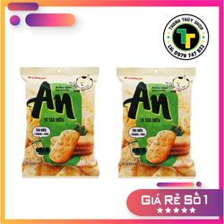 Combo 02 gói - Bánh gạo AN hiệu Orion vị tảo biển càng ăn càng thích loại 111g