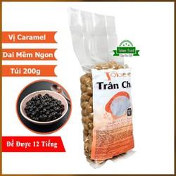 Trân Châu Caramel Đường Đen Tobee - Túi Nhỏ Tiện Lợi 200g - Sử dụng đến 12 giờ - Nấu Trà Sữa Trân Châu Đường Đen