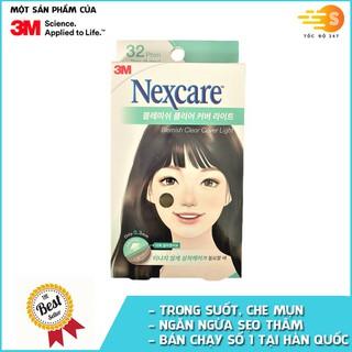 Hộp 32 miếng phim dán trị mụn, ngăn sẹo thâm trong suốt Nexcare 3M TM-32M - TM-32M thumbnail
