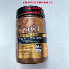 Kem ủ phục hồi tóc hư tổn siêu mượt Argan Oil 1000ml giá rẻ - R-1000