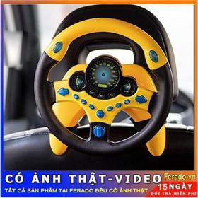 Tay lái đồ chơi - tay lái vô lăng ô tô cho trẻ em - Tay lái đồ chơi