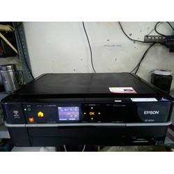 Máy in màu EP - 803A in - scan - photocopy 6 màu chuyên in ảnh, gắn hệ thống mực ngoài.