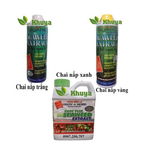 Phân bón hữu cơ growmore seaweed extract rong biển nhập khẩu mỹ