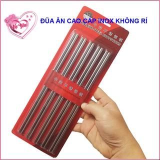 Bộ 30 đôi đũa inox 304 cao cấp - M92079039 thumbnail
