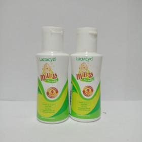 Sữa tắm gội cho bé Lactacyd Milky 60ml - 801