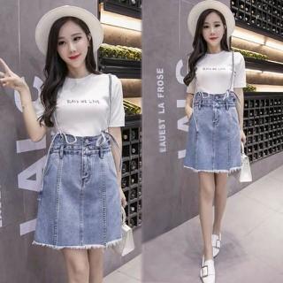Yếm jean nữ lai tua thời trang - Y01 thumbnail