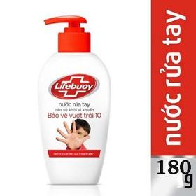 [COMBO 3 CHAI] Nước rửa tay Lifeboy 180ml - COMBO 3 RTAY LIFEBOY 180G