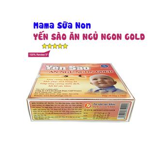 Mama sữa non Yến Sào Ăn Ngủ Ngon Gold ( Hộp 10 ống) - YENSAO 2