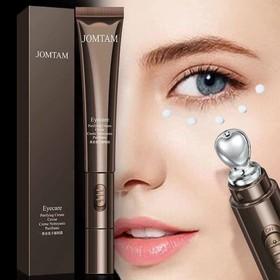 Máy massage va kem dưỡng mắt JOMTAM chống lão hóa chống quầng thâm vùng mắt - máy massage + kem dưỡng mắt